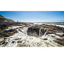Thor's Well, on the Pacific Coast Photographic Print