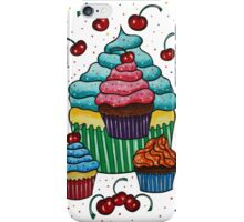 Sprinkles of Color - Acrylics on Mixed Media Paper iPhone Case/Skin
