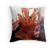 Tree Chair Throw Pillow