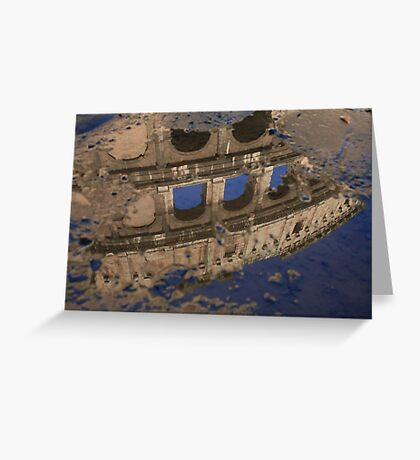 The Colosseum - Rome, Italy Greeting Card