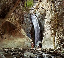 Tahquitz Falls by Mark Ramstead