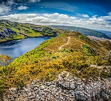 Crater Lake Trail by Russell Charters