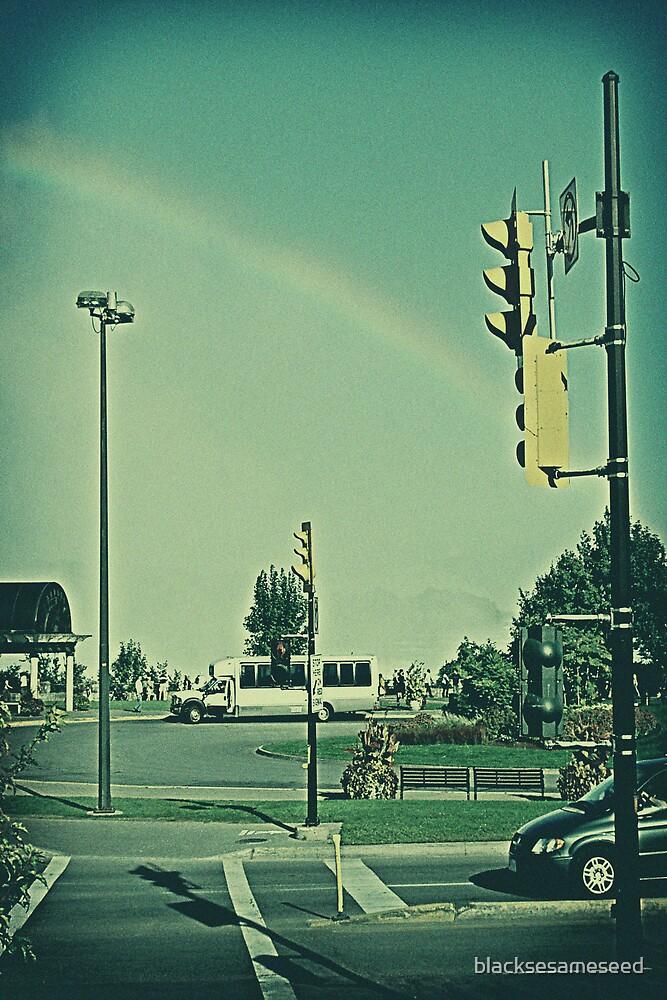 stop the rainbow by blacksesameseed