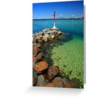 Forster Inlet Greeting Card