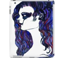 Watercolor Portrait iPad Case/Skin
