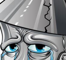 Emo Tinman Sticker