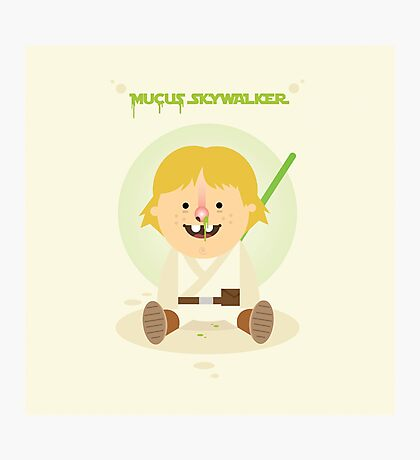 Mucus Skywalker Photographic Print