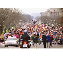 March for Life Photographic Print