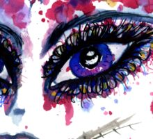 Watercolor Portrait 2 Sticker