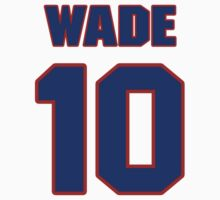 Basketball player Mark Wade jersey 10 by imsport