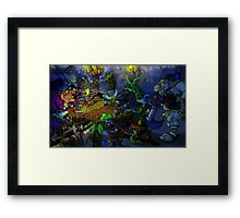 The tavern of delusions Framed Print