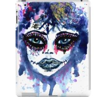 Watercolor Portrait 3 iPad Case/Skin