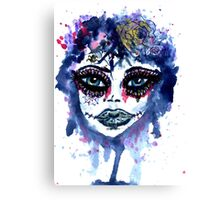 Watercolor Portrait 3 Canvas Print