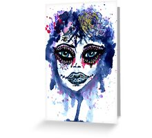 Watercolor Portrait 3 Greeting Card