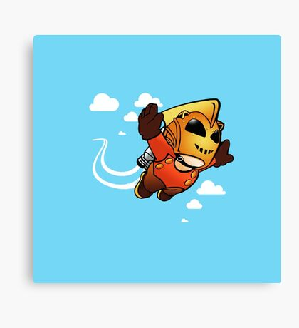 Rocketeerio Canvas Print