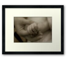 To love and to hold Framed Print