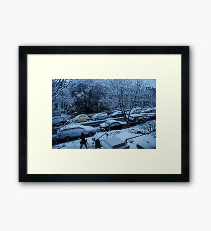 almost monochrome Framed Print