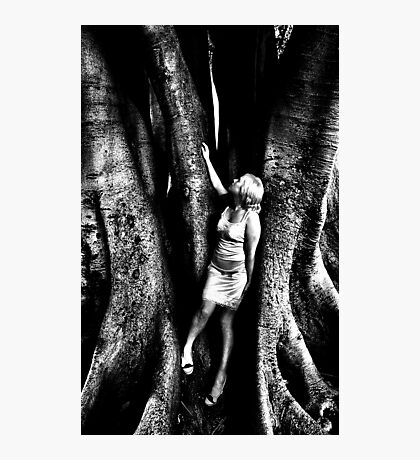 Becoming one with the earth and its creations... Photographic Print