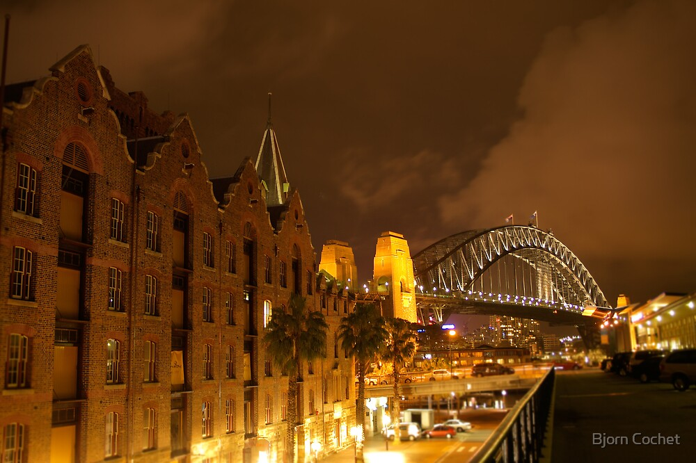 Sydney Harbour Bridge by Bjorn Cochet