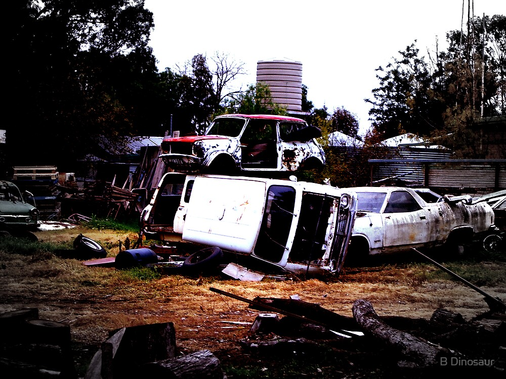 Car Pile by Bryan Davidson