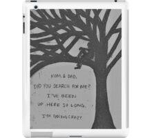 Pierce The Veil Lyrics iPad Case/Skin