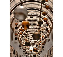 Carillon Arcade Christmas Decor Photographic Print