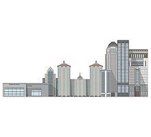 Louisville Skyline by ryndvs