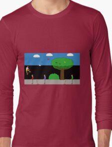 Zombie Skateboard Apocalypse Series 3 Long Sleeve T-Shirt