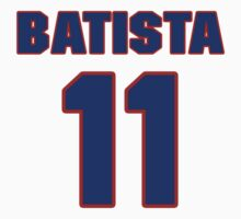 Basketball player Esteban Batista jersey 11 by imsport