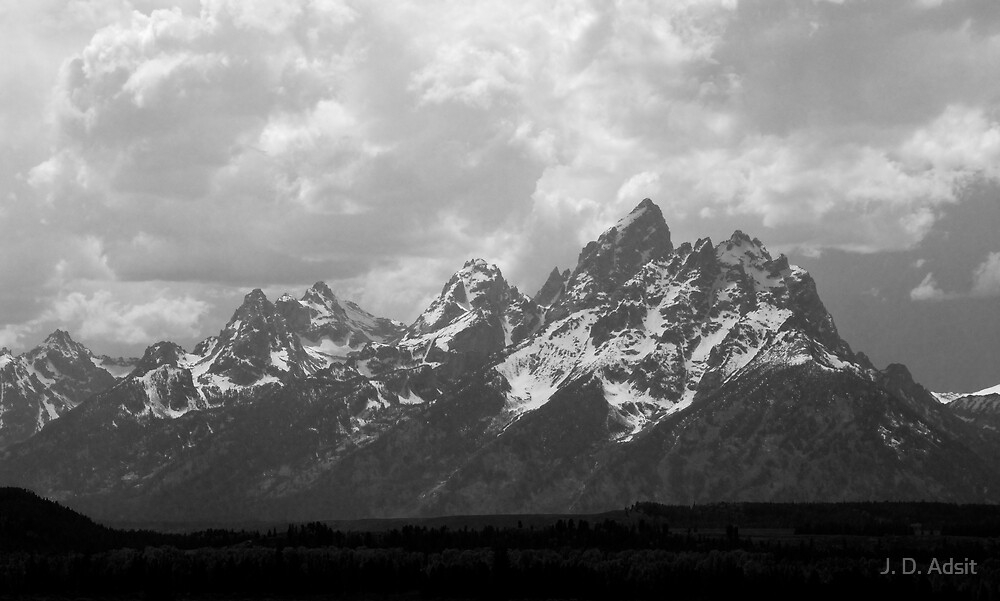 The Grandest Teton by J. D. Adsit