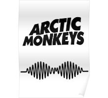 Arctic Monkeys AM Poster