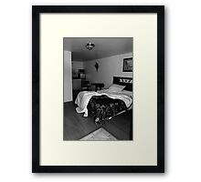 The Y Motel Framed Print