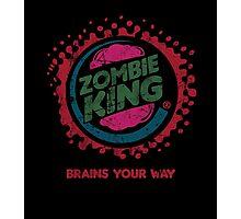 Zombie King Photographic Print