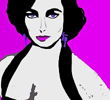 Elizabeth The Original Cat On A Hot Tin Roof by Saundra Myles