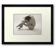 Curled Framed Print
