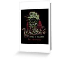 Walker's Bait N' Tackle Greeting Card