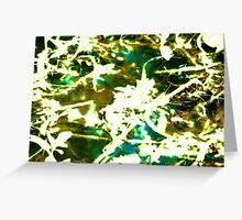 Ghostly mystery Greeting Card