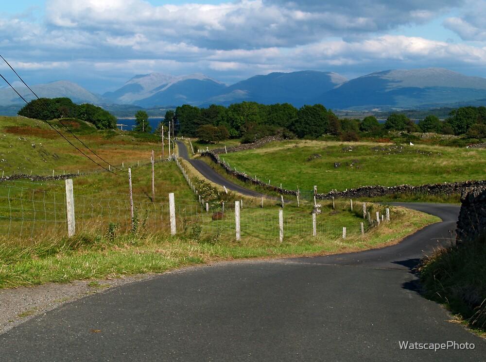 The Road to Achnacroish by WatscapePhoto