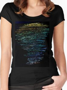 Colorful Strokes 4 Women's Fitted Scoop T-Shirt