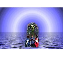 Baptism In The Lake Of Cerebral Spinal Fluid Photographic Print