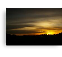 Highway Home Canvas Print