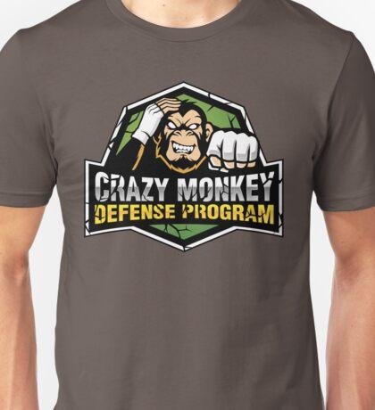 Crazy Monkey Defense Unisex T-Shirt