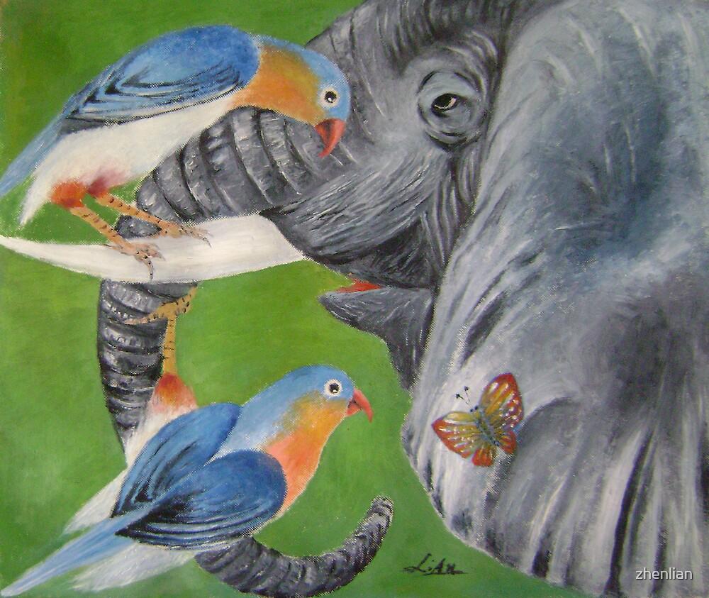 elephant fantasy 1 by zhenlian