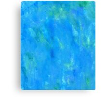 Grunge Blue Texture Canvas Print