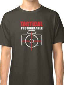 Tactical Photographer Logo - Version 2 Classic T-Shirt