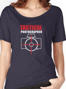 Tactical Photographer Logo - Version 2 Women's Relaxed Fit T-Shirt