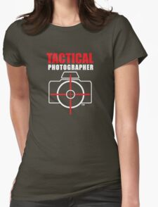 Tactical Photographer Logo - Version 2 Womens Fitted T-Shirt