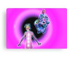 Kosmik Kundalini Dance Canvas Print