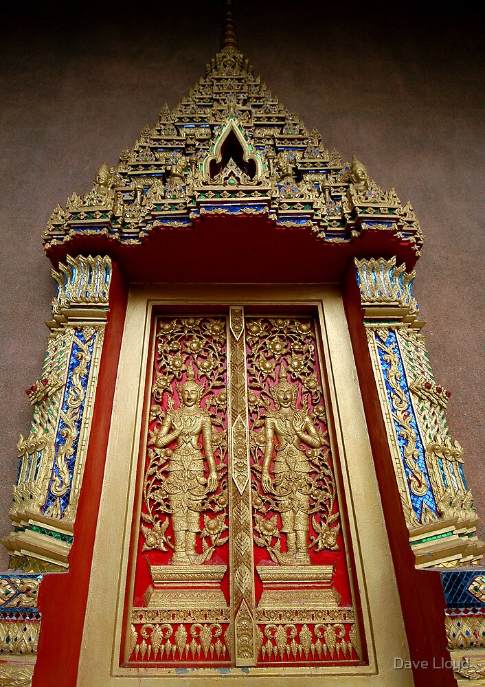 Temple Doors by Dave Lloyd