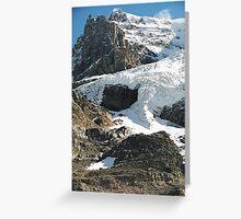 Retreating Glacial Ice Greeting Card